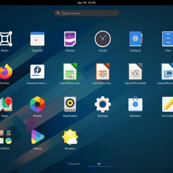 Fedora Linux Workstation