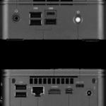 Gigabyte GB-BRR5H-4500 Aansluitingen