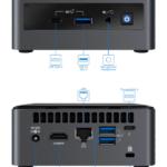 Intel NUC10i7FNH Linux Mini Connections