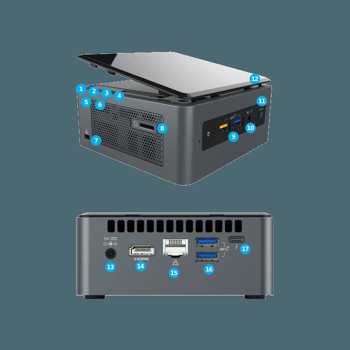 Intel Nuc8i7beh Core I7 04