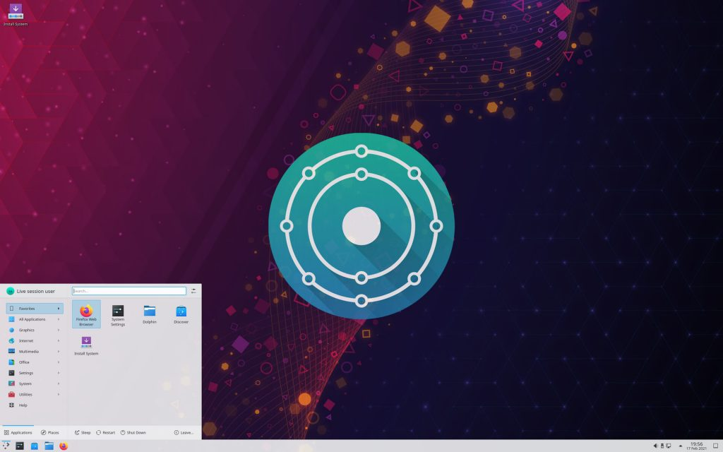 KDE Neon Plasma Desktop Distro